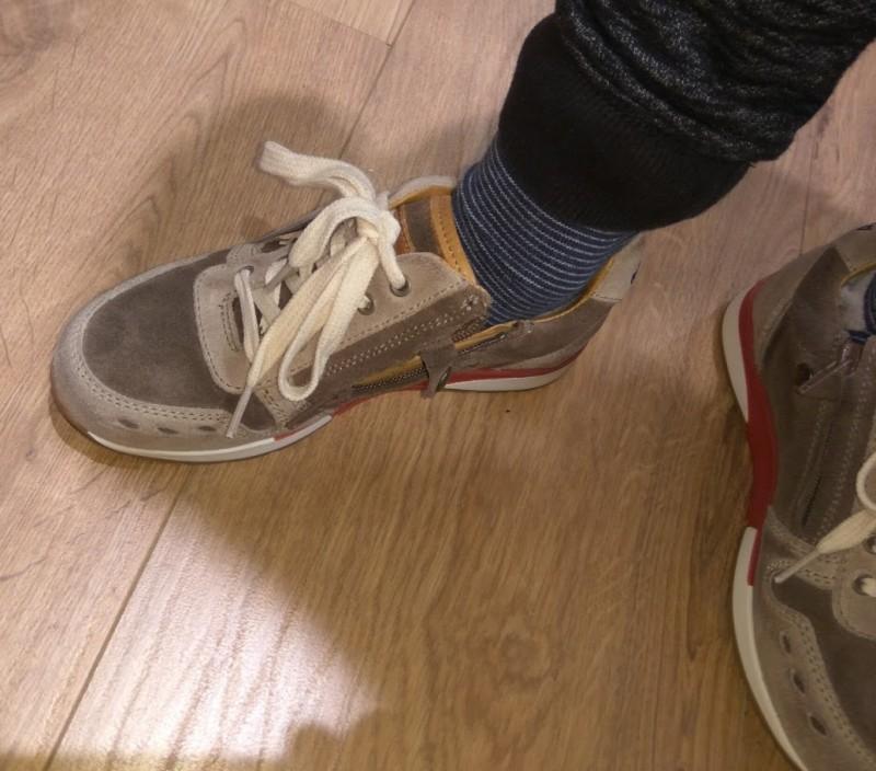 Bisgaard Sneaker - perfekter Sitz für den kleinen Kinderfuß